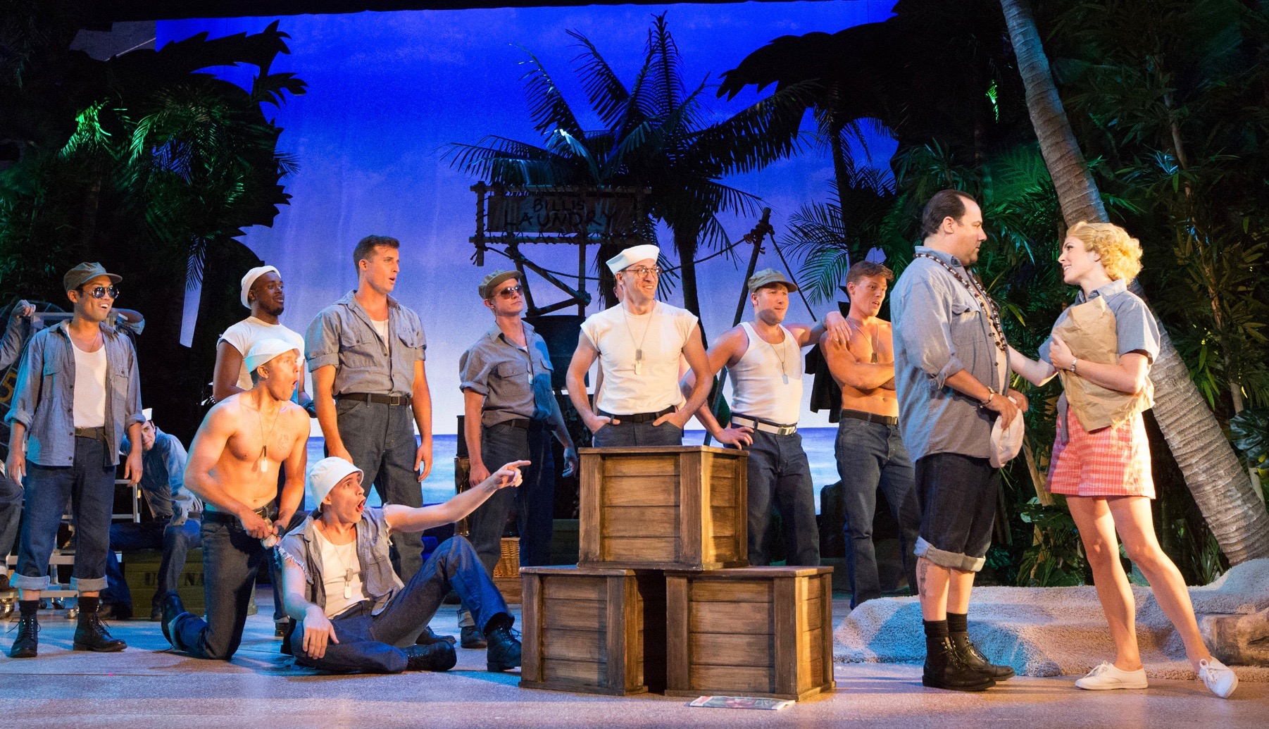 THEATER REVIEW Love in the Midst of War in South Pacific  Philadelphia Magazine