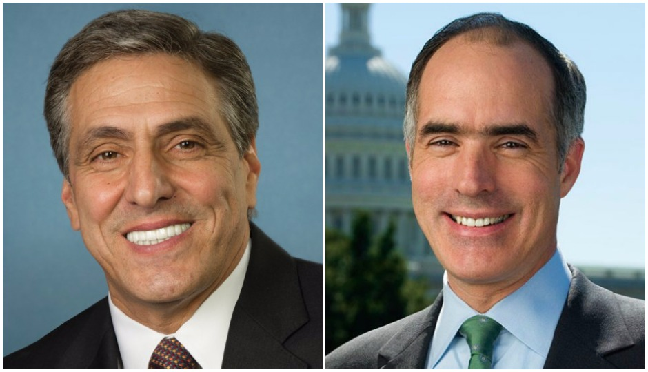 Image result for photos of Lou Barletta and sen bob casey