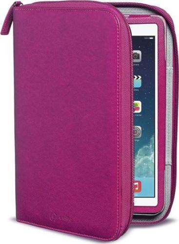 Celly ORGANIZER2502 funda para tablet 24,6 cm (9.7 pulgadas pulgadas) Funda de protección Rosa
