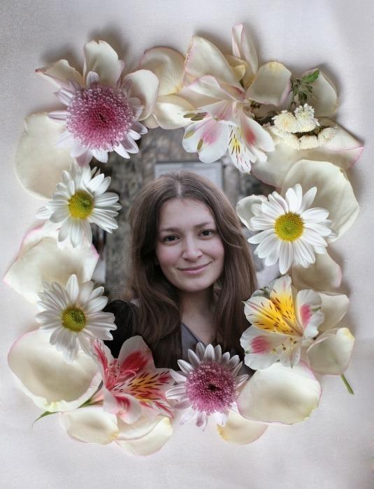 Photofunia Frames Flowers Online | Amtframe org