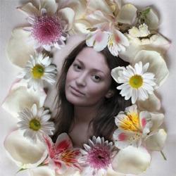 Http Photofunia Com Effects Flower Frame   Framejdi org