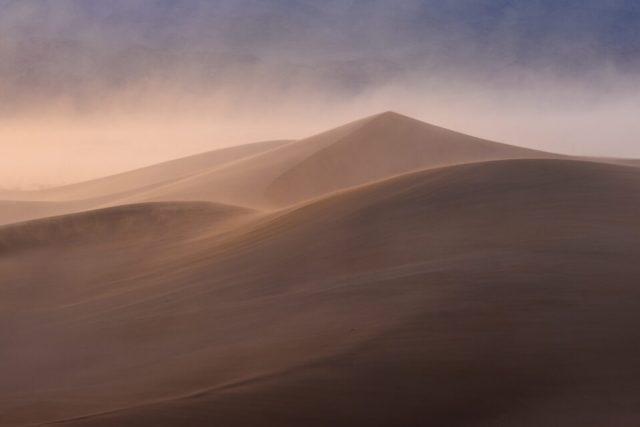 Sand dunes photography