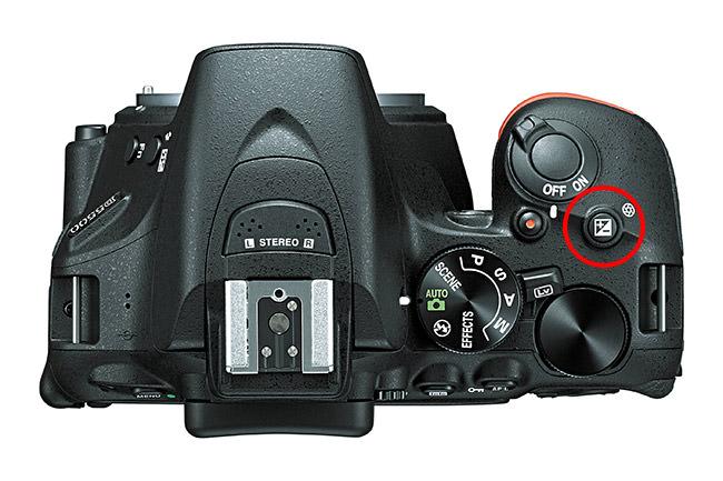 Nikon D5500 Exposure Compensation