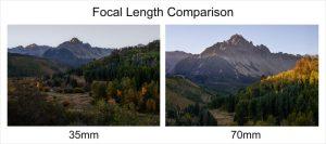 Focal-length-comparison