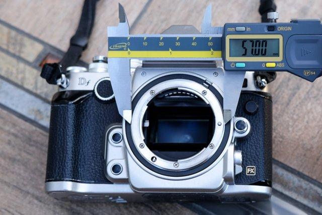 Nikon F Outer Diameter