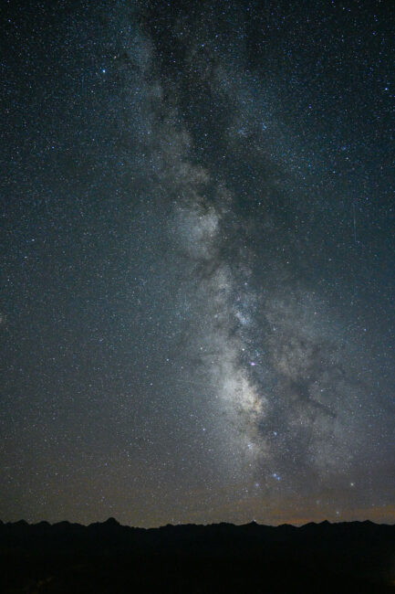 Nikon Z7 Milky Way at ISO 6400