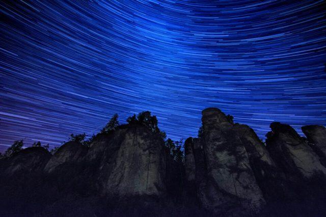 Star-trails-Prachov