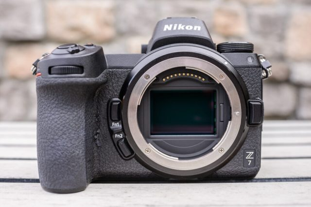 Nikon Z7 with Worn Out Grip