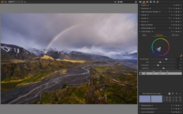 Capture One Color Editor