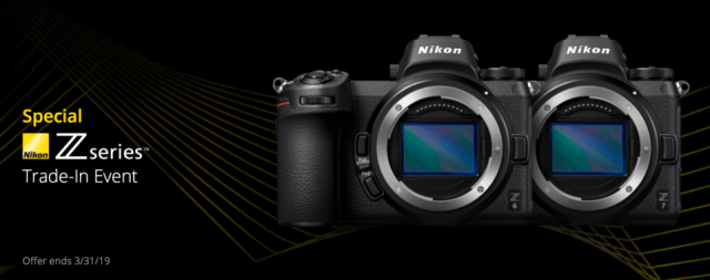 Nikon Z Trade In Sale BH