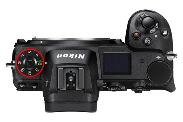Nikon Z6 PASM Dial