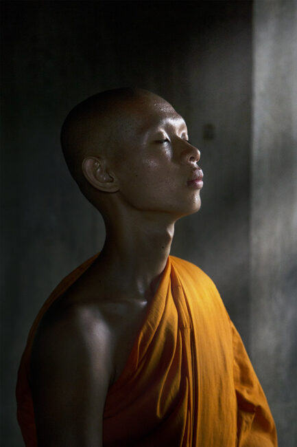 23.-Equanimity_Buddhist-Monk-meditation_Angkor-wat-Cambodia_Swarup-Chatterjee