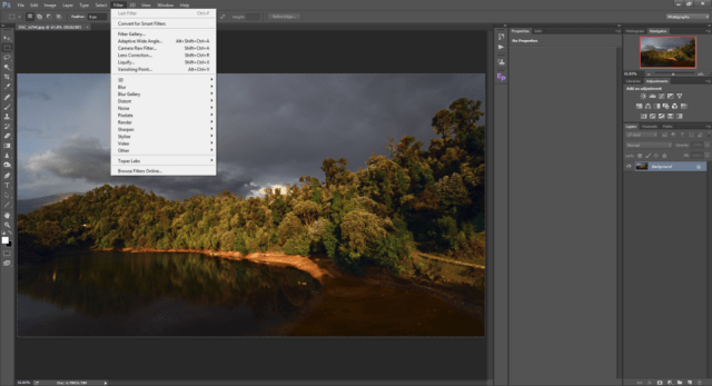 Filters in Photoshop