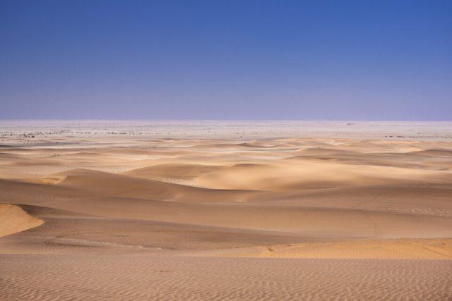 Desert near Swakopmund