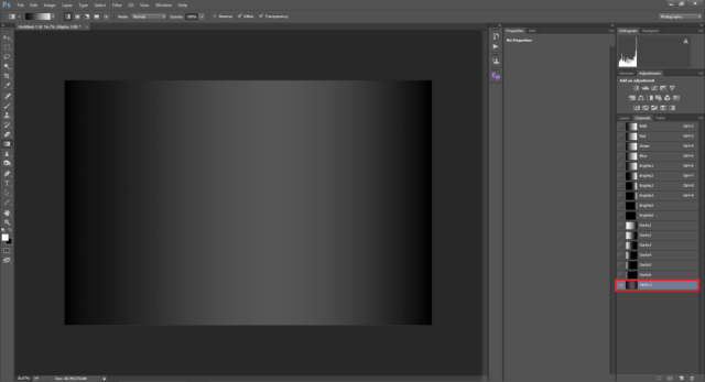 Subtracting highlights & darks from the entire frame