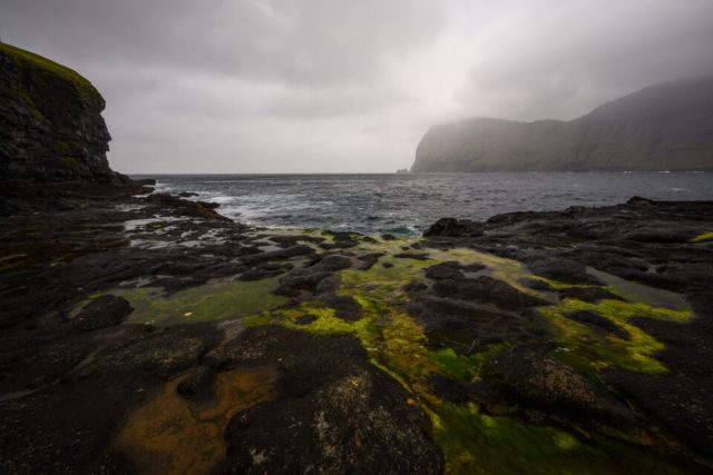 Cloudy Weather in the Faroe Islands, Kalsoy