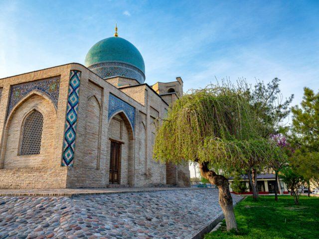 Khast Imam Ensemble in Tashkent, Uzbekistan