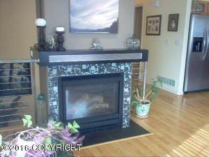 Stunning Custom Fireplace, Hearth, Mantle