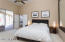 Master suite with access to the patio