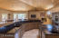 Gorgeous wood vaulted ceilings