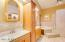 Luxury Master Bath with whirlpool tub and walk-in shower