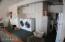 garage laundry area