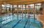 Beautiful indoor lap pool