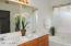 Large walk-in closet, double sinks, separate shower & tub, private toilet room