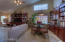 Family Room w/ Rich Built-in Cabinetry
