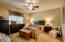 Large master suite!
