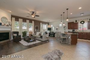Open Concept Great Room and Kitchen