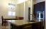 Kitchen island to casual dining