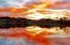 Sunrise from Village Center lake