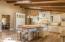 Custom Affinity cabinets, Desert Amarillo granite counters