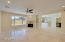 Freshly painted with beautiful travertine floors throughout majority of the home