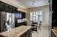 Extended cabinets and granite counter
