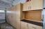 Garage storage and work area