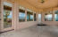 Covered patio portion, doors to master & kitchen