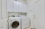 Washer and Dryer Included with Above Cabinets