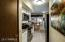 Eat in Kitchen features stainless appliances with microwave, range, dishwasher and refrigerator.