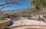 Backyard pool and raised deck