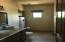 Complete Casita bathroom with large walk-in shower and it's own W/D