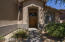 Your guests will appreciate the pleasant, shaded entry to your home. The double doors add to this home's panache.