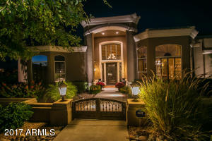 Front night scape lighting trevino