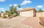 Two car garage with insulated garage door and opener