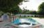 Pool & Spa with water feature.