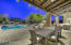 Another covered patio overlooking the serenity of your pristine and private backyard!