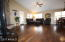 The Hardwood Flooring flows through all the living areas