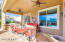 Spacious covered patio.