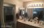 Master bath has double sinks , door to shower and toilet for privacy and not pictured a big walkin closet!